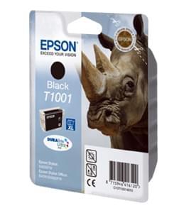 Epson Cartouche DURABRITE T1001 Noire (C13T10014010) - Achat / Vente Consommable Imprimante sur Cybertek.fr - 0