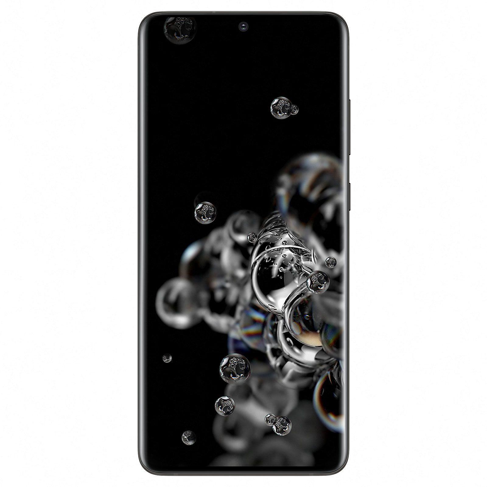 Samsung Galaxy S20 ultra noir 128Go - Téléphonie Samsung - 0