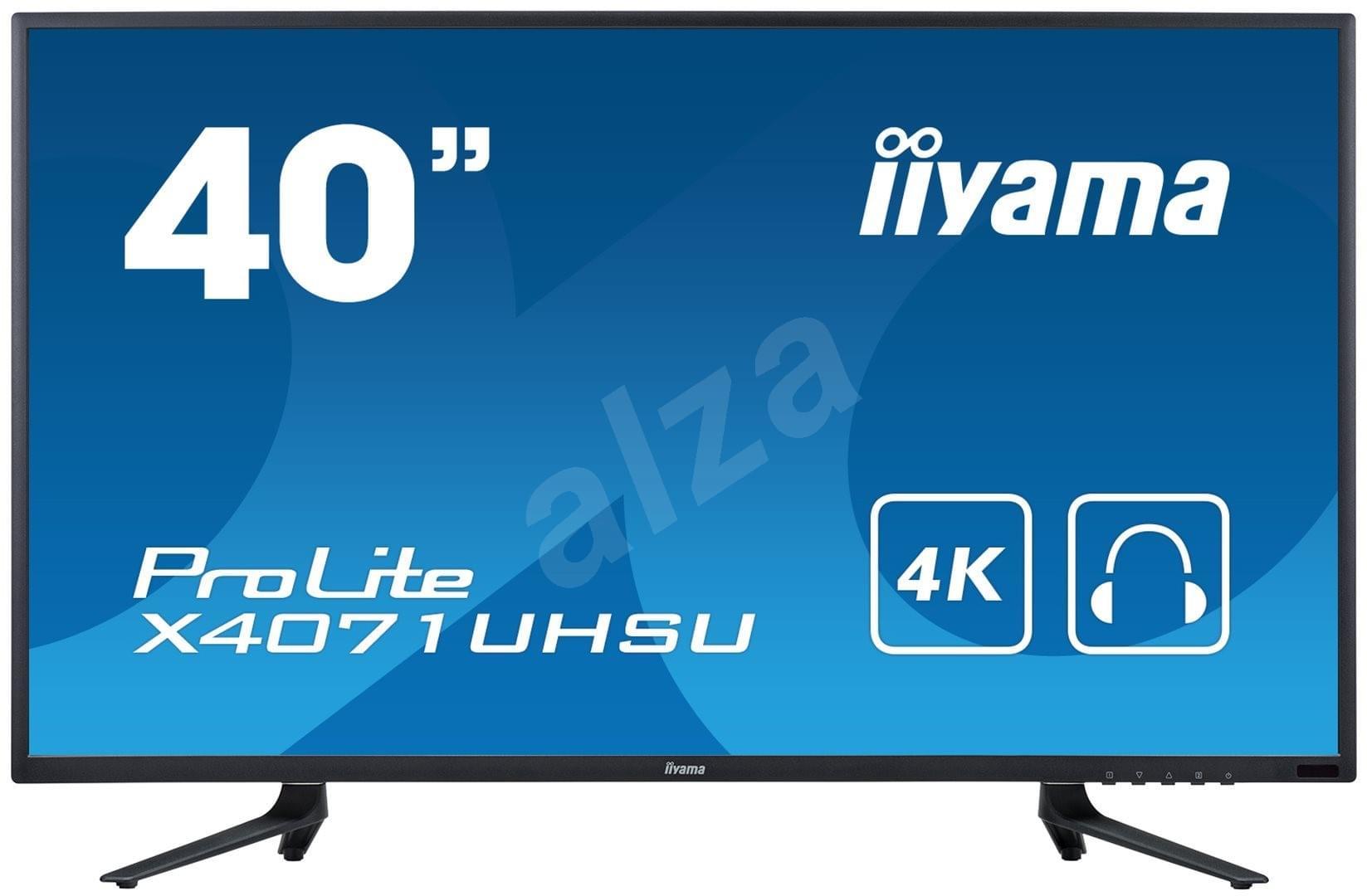 Iiyama X4071UHSU-B1 (X4071UHSU-B1) - Achat / Vente Ecran PC sur Cybertek.fr - 0