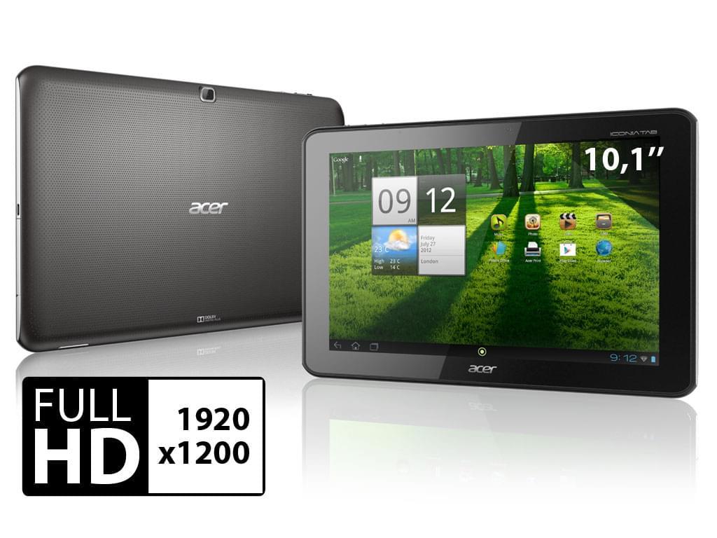 Acer A700 32Go NOIR (HT.H9ZEF.002) - Achat / Vente Tablette tactile sur Cybertek.fr - 0