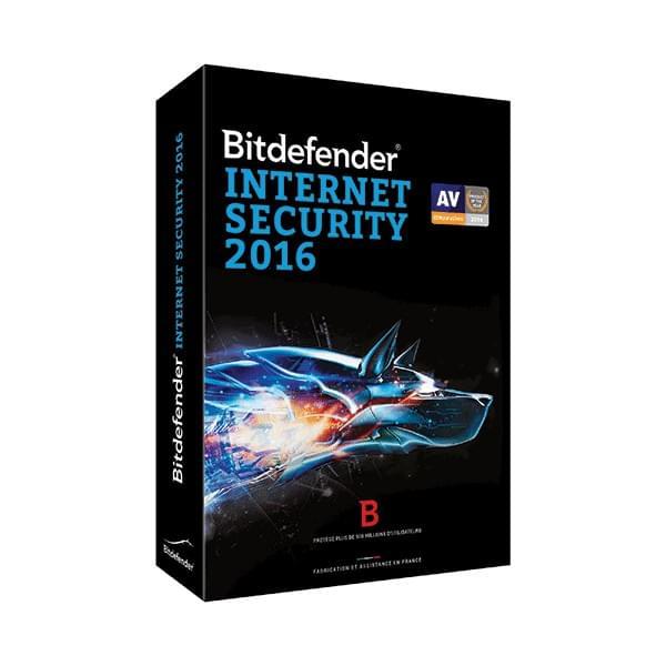 Bitdefender Internet Security 2016 (B-FBDIS-6X2P003) - Achat / Vente Logiciel sécurité sur Cybertek.fr - 0