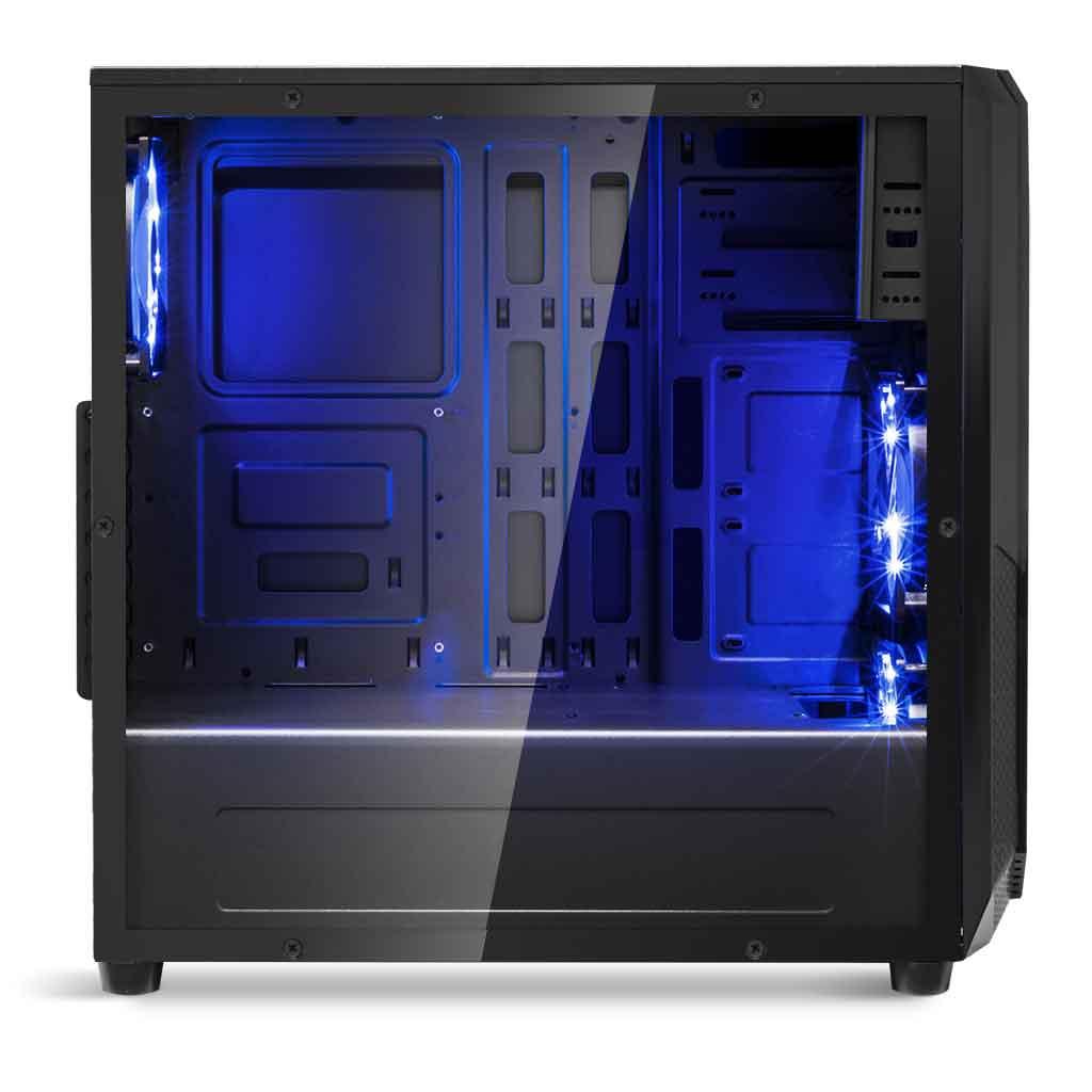 Spirit Of Gamer ROGUE I BLUE Noir - Boîtier PC Spirit Of Gamer - 2