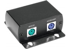 Extendeur passif clavier/souris PS2 sur RJ45/USB - Connectique PC - 0