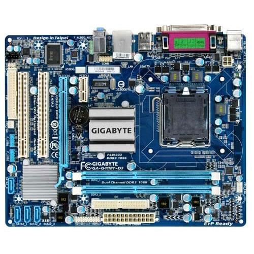 Gigabyte G41MT-D3 (G41MT-D3V) - Achat / Vente Carte Mère sur Cybertek.fr - 0