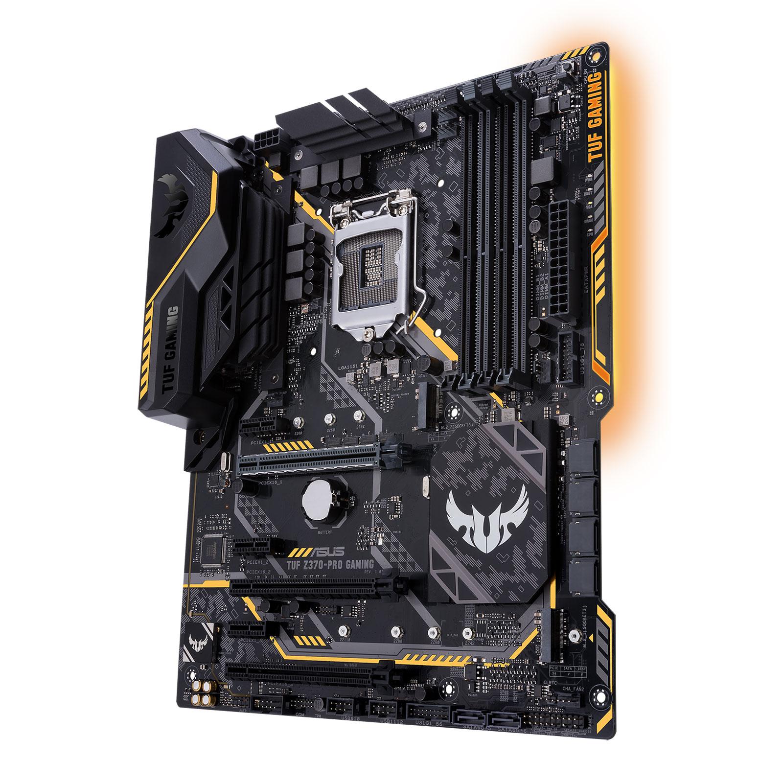 Asus TUF Z370-PRO GAMING ATX DDR4 - Carte mère Asus - Cybertek.fr - 0