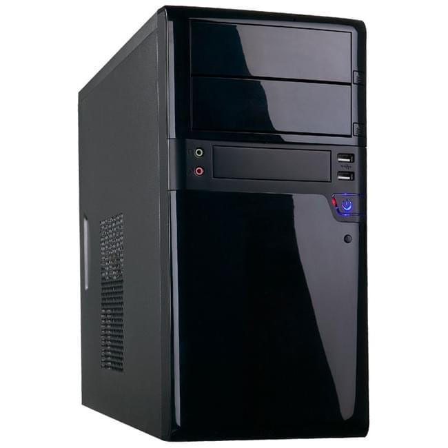 Heden MT/480W/mATX Noir - Boîtier PC Heden - Cybertek.fr - 0
