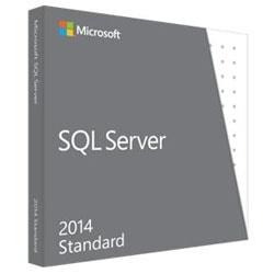Microsoft SQL Serveur 2014 Standard - 1 serveur + 10 clients - Logiciel système exploitation - 0