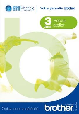 Brother Extension garantie 3 ans EFFIPACK3 (EFFI3RAB) (EFFI3RAB) - Achat / Vente Accessoire imprimante sur Cybertek.fr - 0