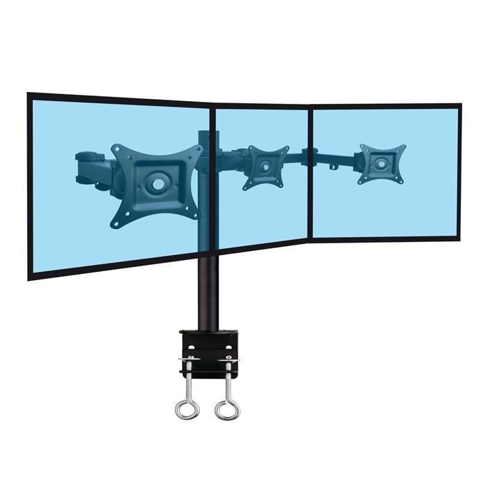 """3 écrans 13""""-20"""", fixation bord de table - Accessoire écran - 0"""