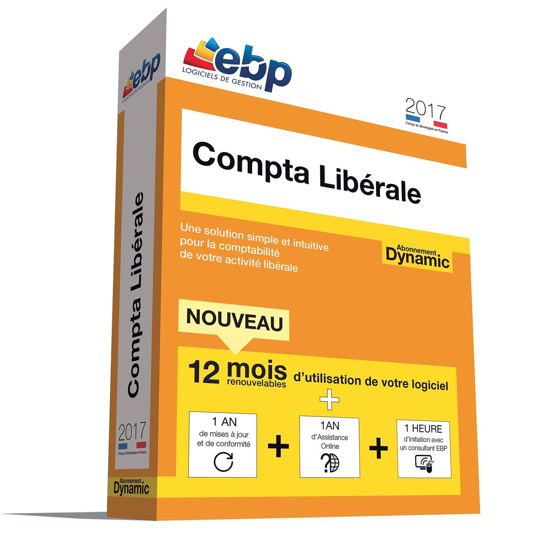 EBP Compta Libérale DYNAMIC 12 mois 2017 + VIP (1061J094FAA) - Achat / Vente Logiciel Application sur Cybertek.fr - 0