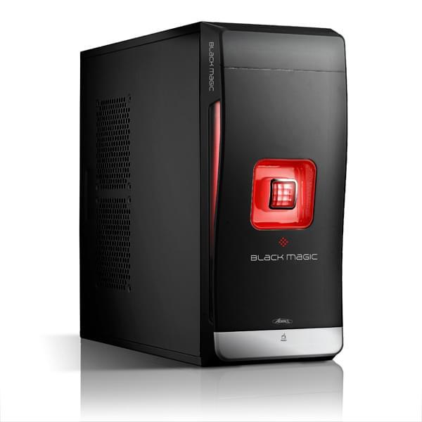 Advance Black Magic 8112R0 Noir/Rouge (8112R0) - Achat / Vente Boîtier PC sur Cybertek.fr - 0
