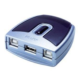 2UC- 1 périphérique USB Automatique - US221A - Commutateur Aten - 2