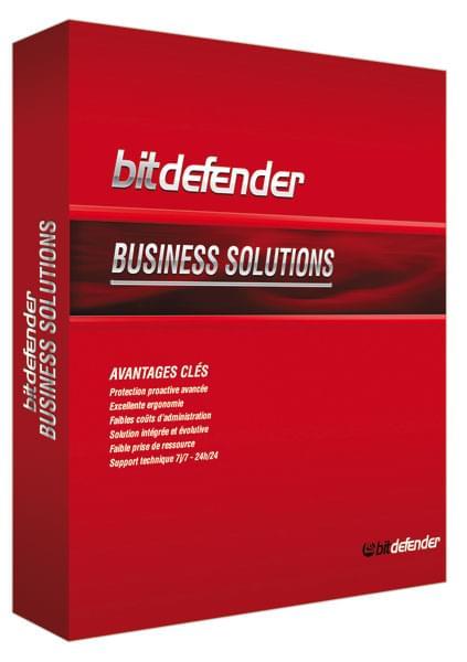 Bitdefender Petites Entreprises - 1 An / 1 Serveur + 5 postes - Logiciel sécurité - 0