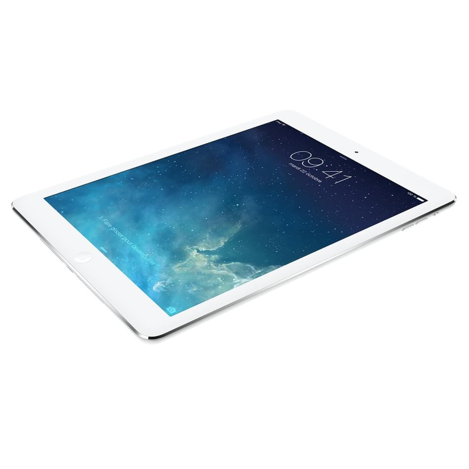 Apple iPad Air 16Go WiFi + Cellular Argent (Blanc) (MD794NF/A) - Achat / Vente Tablette Tactile sur Cybertek.fr - 0