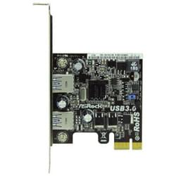 No Name Carte Controleur PCI-E 2 ports USB 3.0 Cybertek