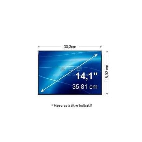 """No Name Dalle LED 14.1"""" (1440x900, mat, 40P) (LP141WP2-TLB1) - Achat / Vente Accessoire PC portable sur Cybertek.fr - 0"""