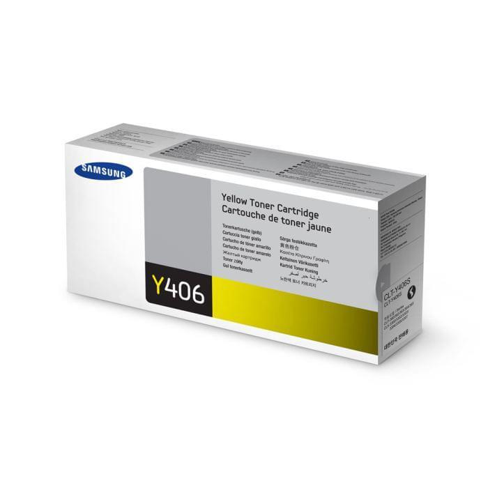 Samsung Toner CLT-Y406S Jaune (CLT-Y406S) - Achat / Vente Consommable imprimante sur Cybertek.fr - 0