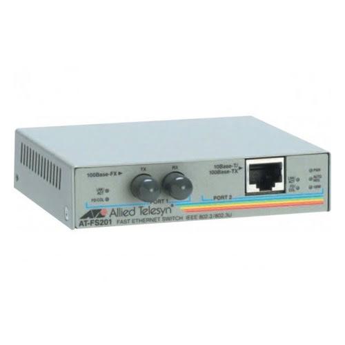 Allied Telesis AT-FS201 convert. 10/100 RJ45 (AT-FS201 - 522201) - Achat / Vente Réseau divers sur Cybertek.fr - 0