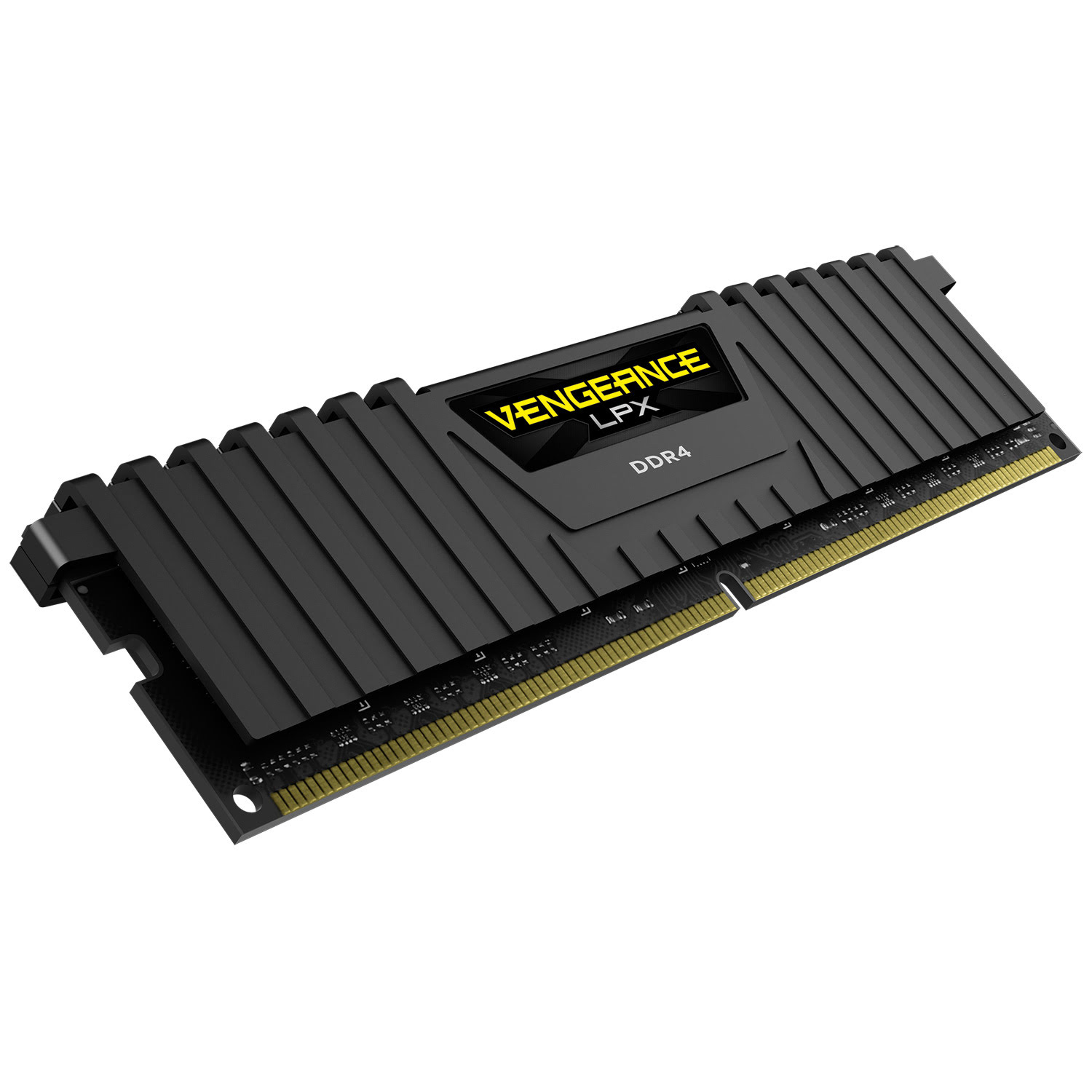 Corsair Vengeance LPX Black Heat spreader  16Go DDR4 2666MHz PC21300 - Mémoire PC Corsair sur Cybertek.fr - 2