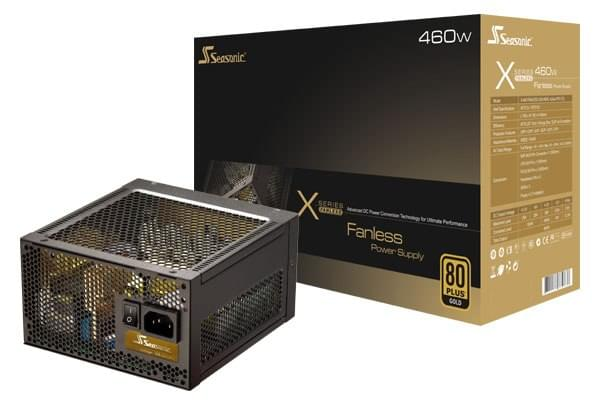 Alimentation PC Seasonic ATX 460 Watts X-460Fanless 80+ Gold - 0