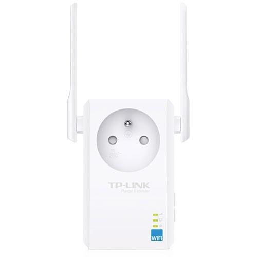 TP-Link TL-WA865RE Répéteur WiFi 300Mbps avec prise (TL-WA865RE) - Achat / Vente Point d'accès et Répéteur WiFi sur Cybertek.fr - 2