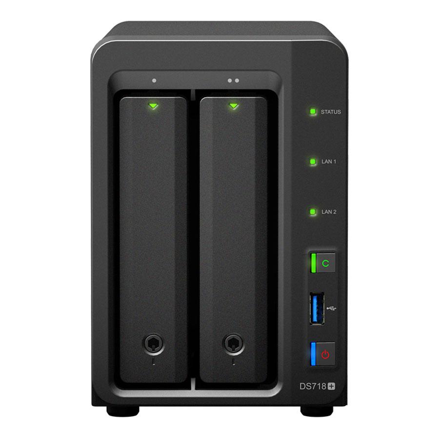 Synology DS718+ - 2 HDD - Serveur NAS Synology - Cybertek.fr - 0