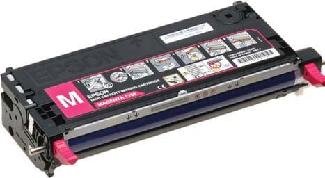 Toner Magenta pour C2800 Haute Capacite-C13S051159 pour imprimante Laser Epson - 0