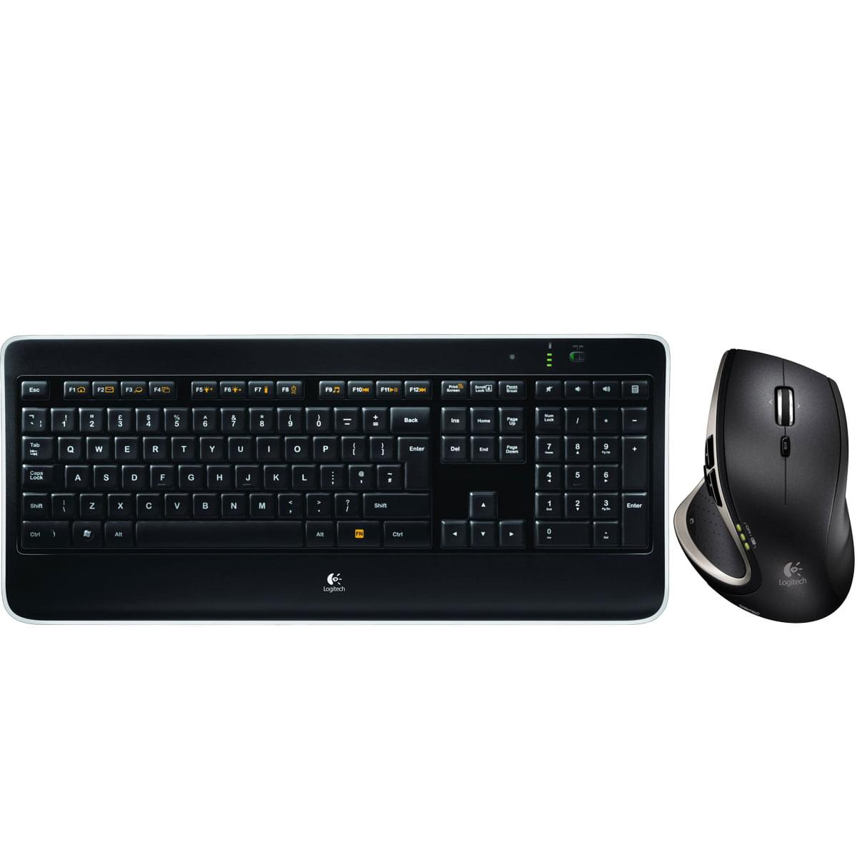 Logitech Wireless Performance Combo MX800 - Pack Clavier/Souris - 0