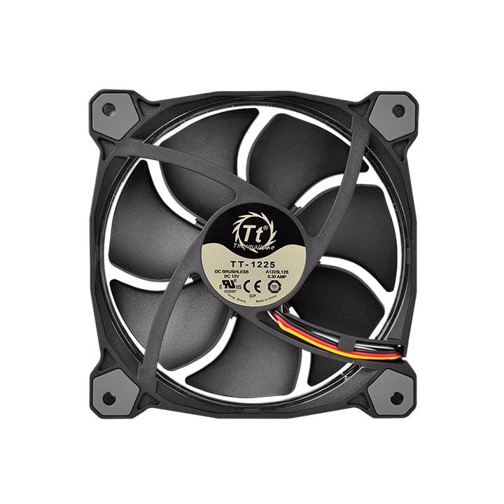Thermaltake Pack x3 Riing 12 RGB LED + Contrôleur - Ventilateur boîtier - 3