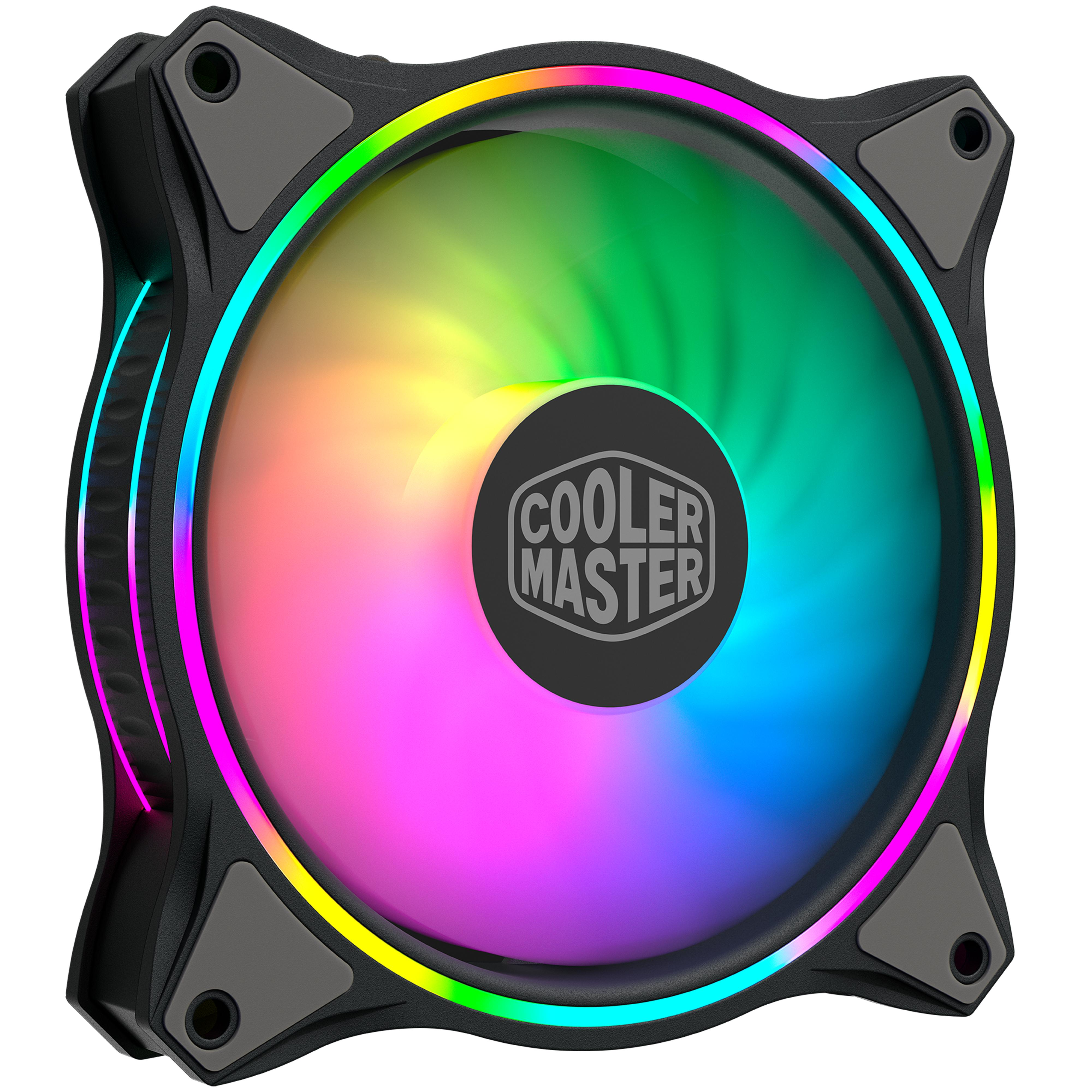 Cooler Master MasterFan MF120 Halo ARGB - Ventilateur boîtier - 2