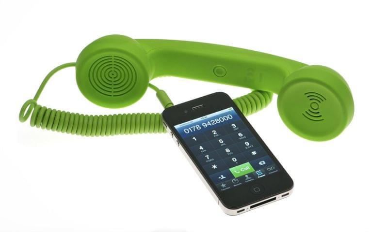 Native Union Combiné Retro Moshi Moshi pour smartphone (MM01H-GREEN_ST-1) - Achat / Vente Accessoire téléphonie sur Cybertek.fr - 0