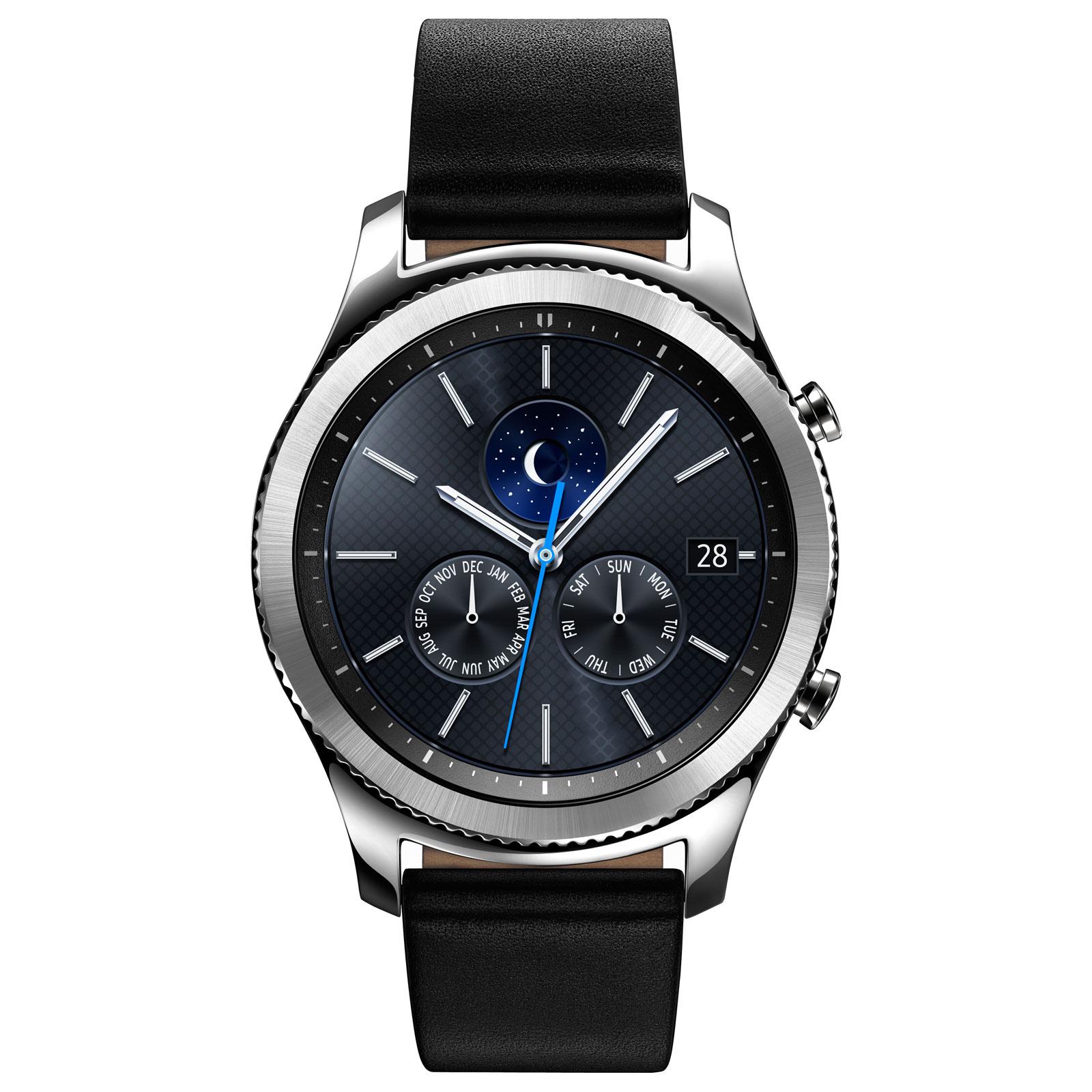 Samsung Gear S3 Classic (SM-R770NZSAXEF) - Achat / Vente Objet connecté / Domotique sur Cybertek.fr - 3
