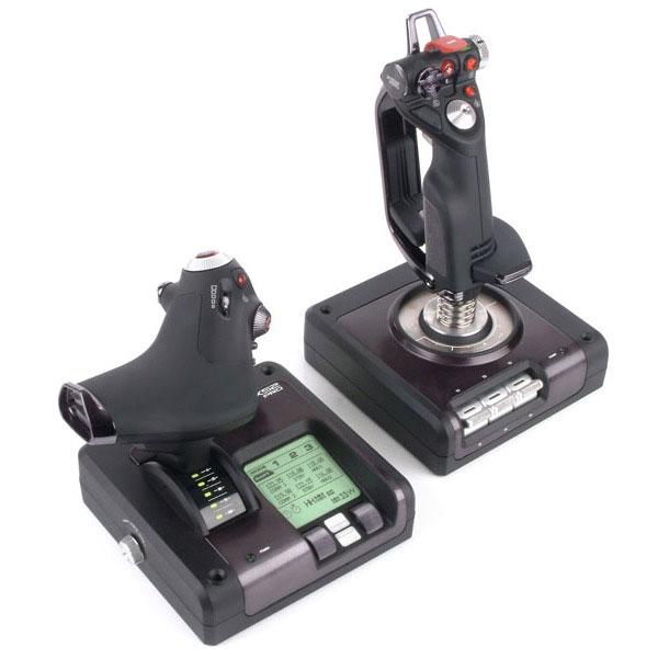Logitech Saitek X52 PRO FLIGHT CONTROL - Périphérique de jeu - 0