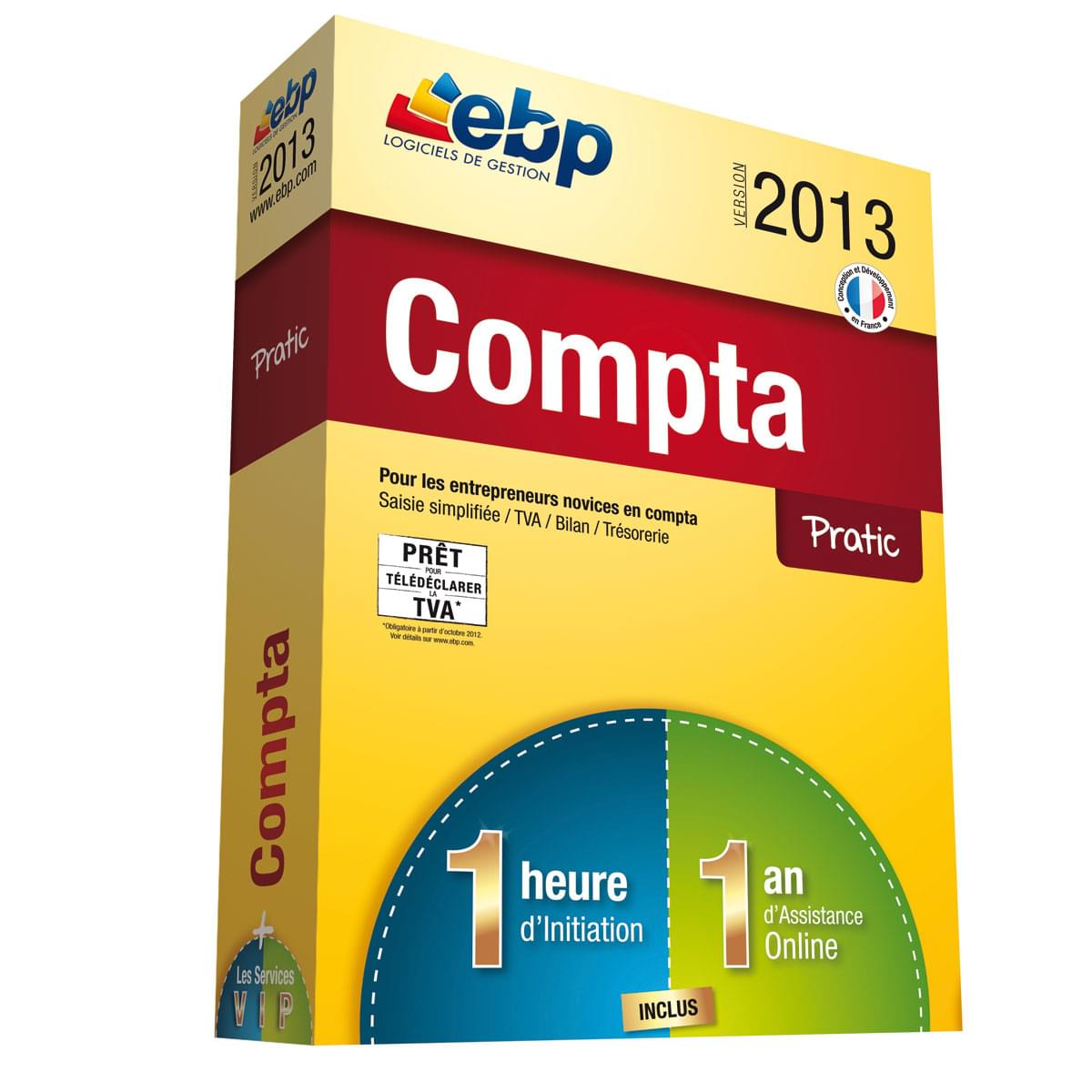 EBP Compta Pratic 2013  + Services VIP - Logiciel application - 0