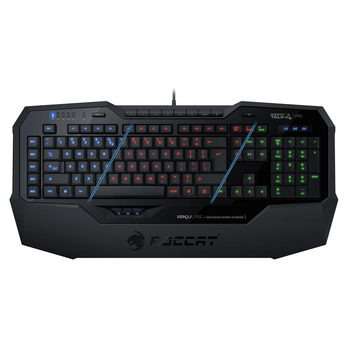 Roccat Isku FX Noir (ROC-12-903) - Achat / Vente Clavier PC sur Cybertek.fr - 0