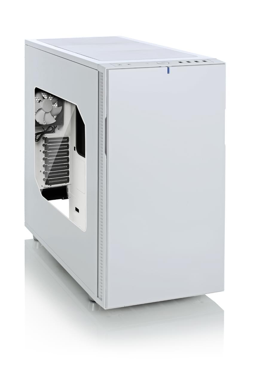 Fractal Design Define R5 White Window (FD-CA-DEF-R5-WT-W) - Achat / Vente Boîtier PC sur Cybertek.fr - 0
