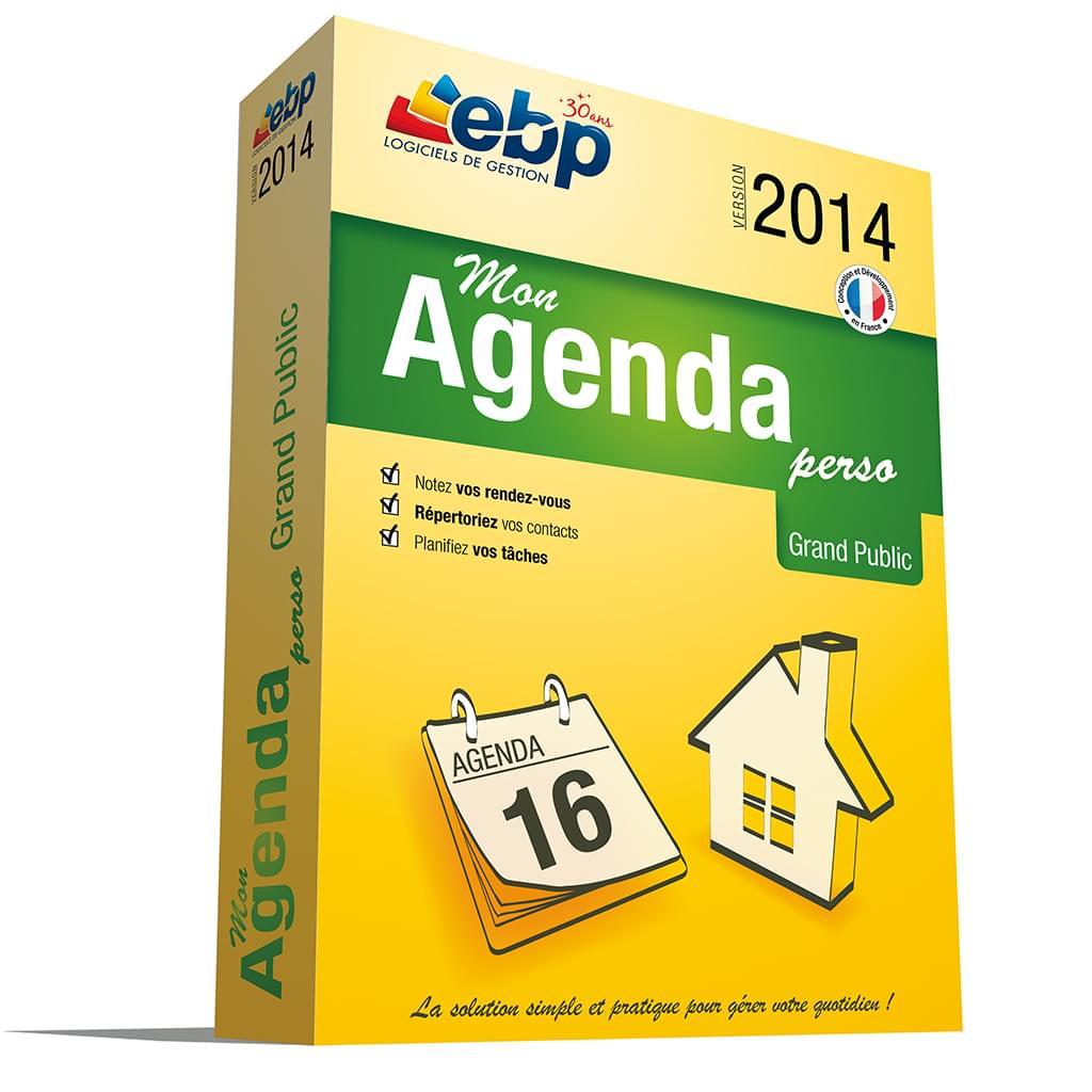 EBP Mon Agenda Perso 2014 (1030E070FAB) - Achat / Vente Logiciel application sur Cybertek.fr - 0