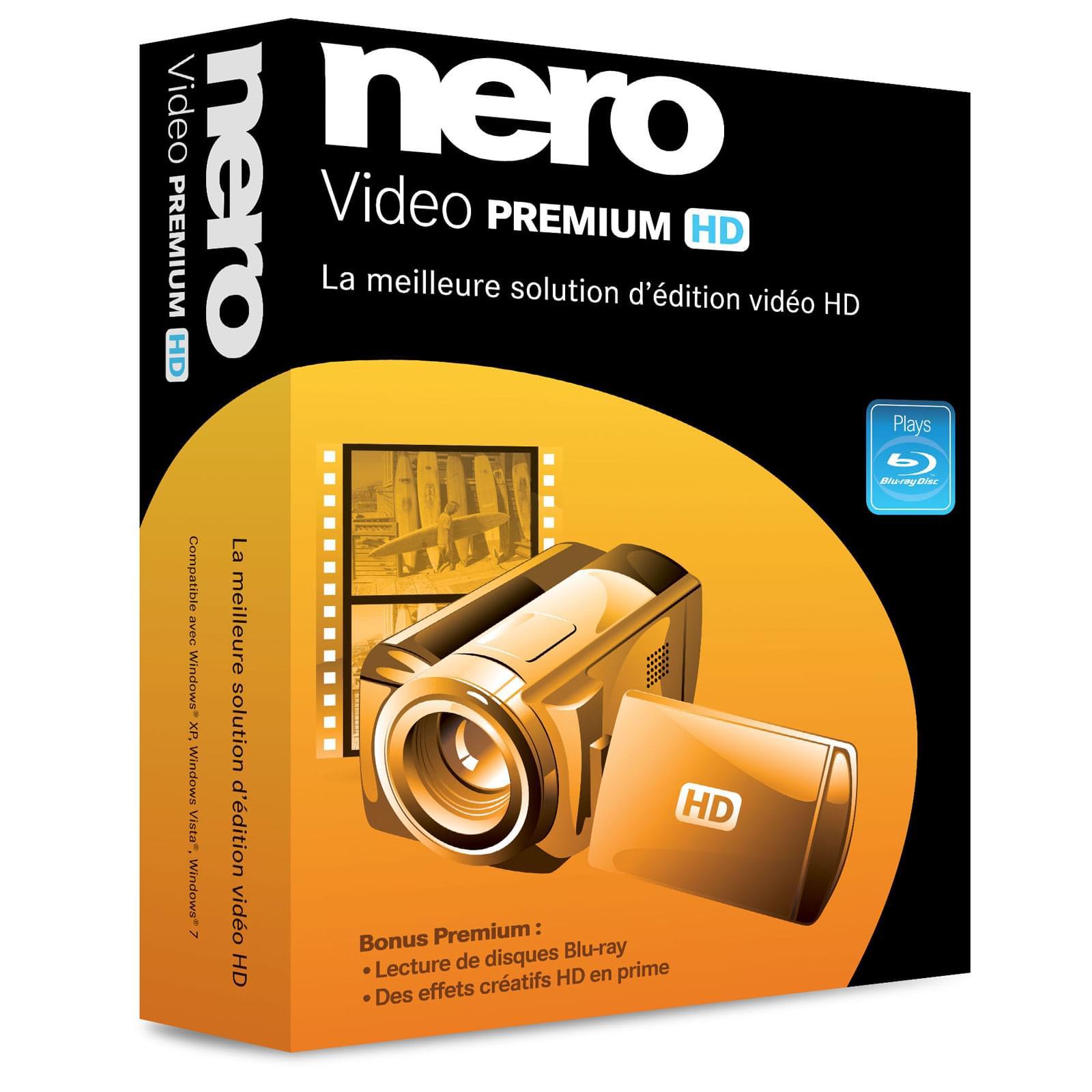 Nero Nero Video Premium HD (EMEA-11500000/1166) - Achat / Vente Logiciel Application sur Cybertek.fr - 0
