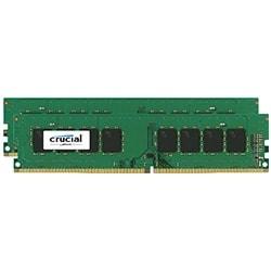 Crucial Mémoire PC CT2K8G4DFD824A (2x8Go DDR4 2400 PC19200) Cybertek