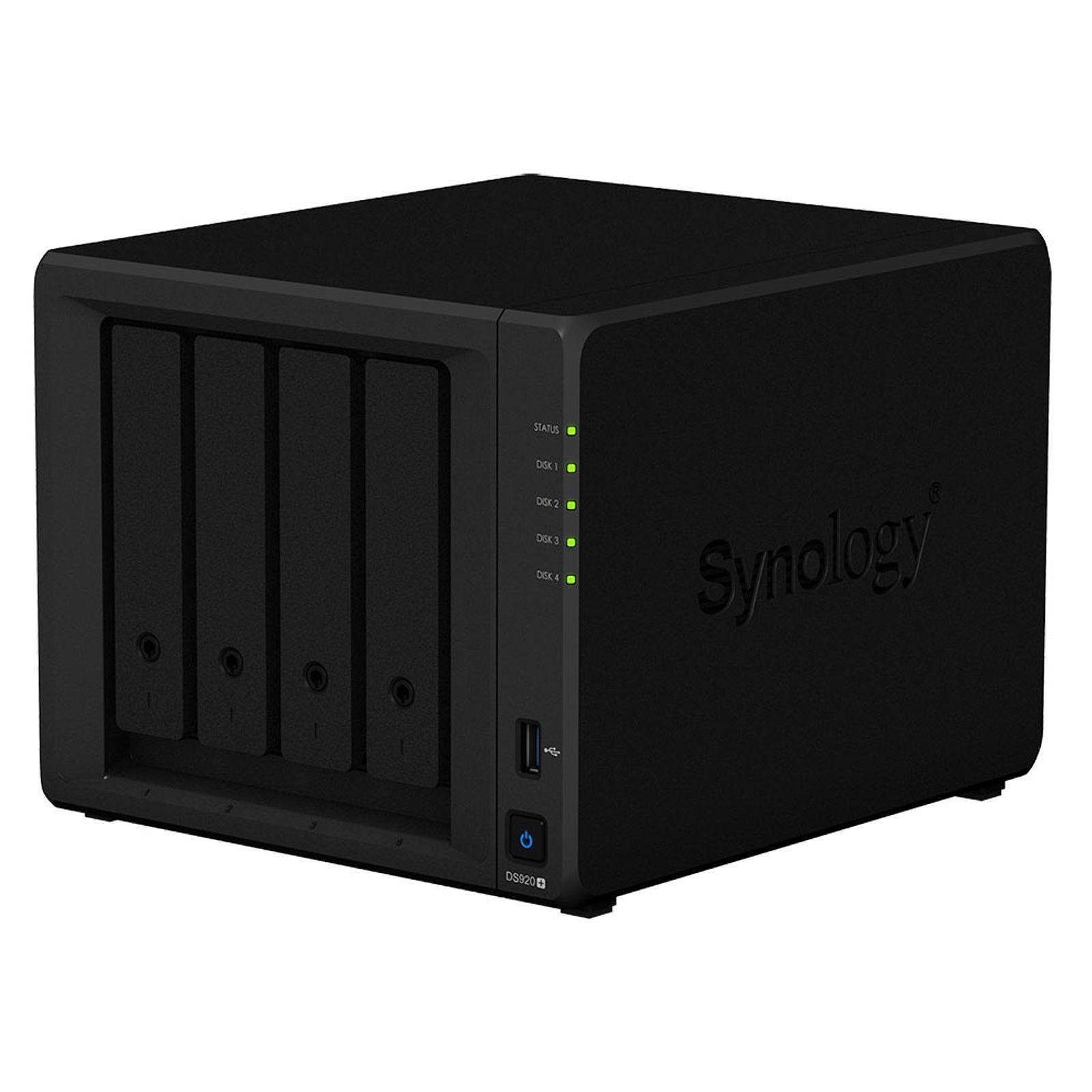 Synology DS920+ - 4 HDD - Serveur NAS Synology - Cybertek.fr - 3