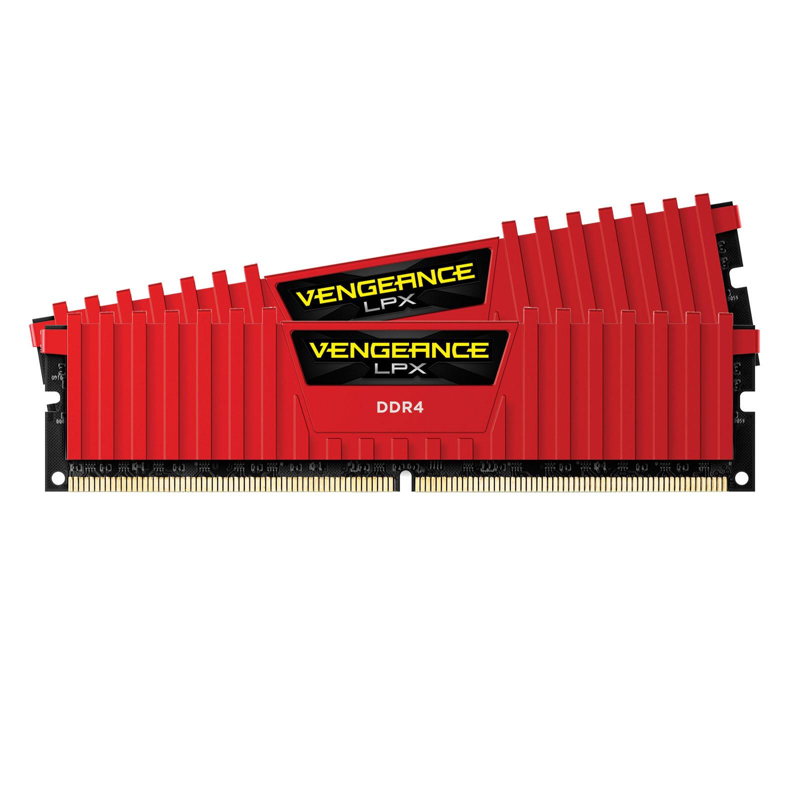 Corsair CMK16GX4M2A2400C16R  16Go DDR4 2400MHz - Mémoire PC - 0