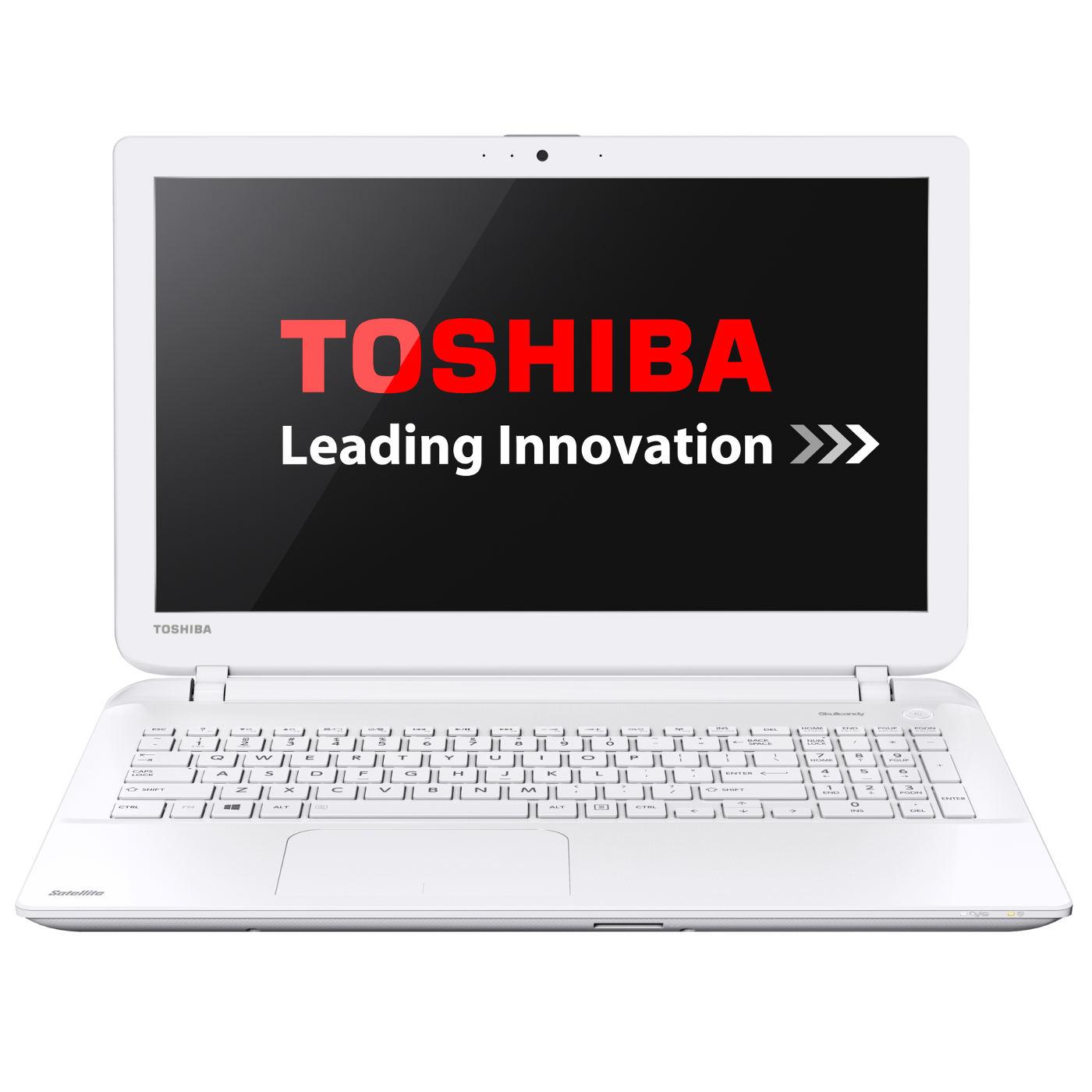 """Toshiba L50-B-17M Blanc -i3-4005/8Go/1To/R5-230/15.6""""/W8.1 (PSKTAE-03D00QFR) - Achat / Vente PC Portable sur Cybertek.fr - 1"""