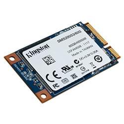 Kingston Disque SSD 60Go mSATA SMS200S3/60G Cybertek