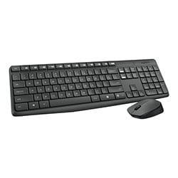 Logitech Pack Clavier/Souris Wireless MK235 Cybertek