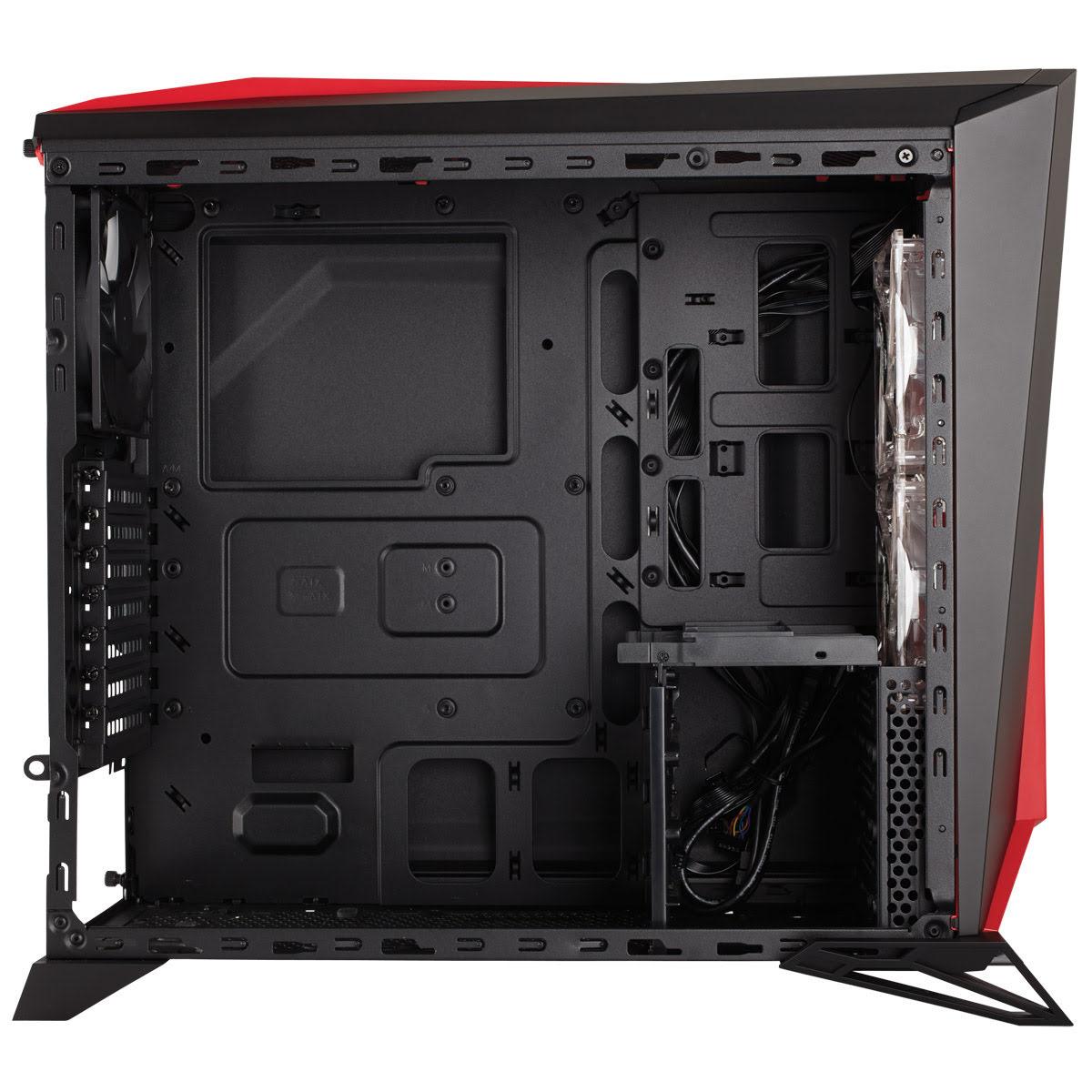 Corsair Carbide SPEC-Alpha Noir/Rouge Rouge - Boîtier PC Corsair - 1