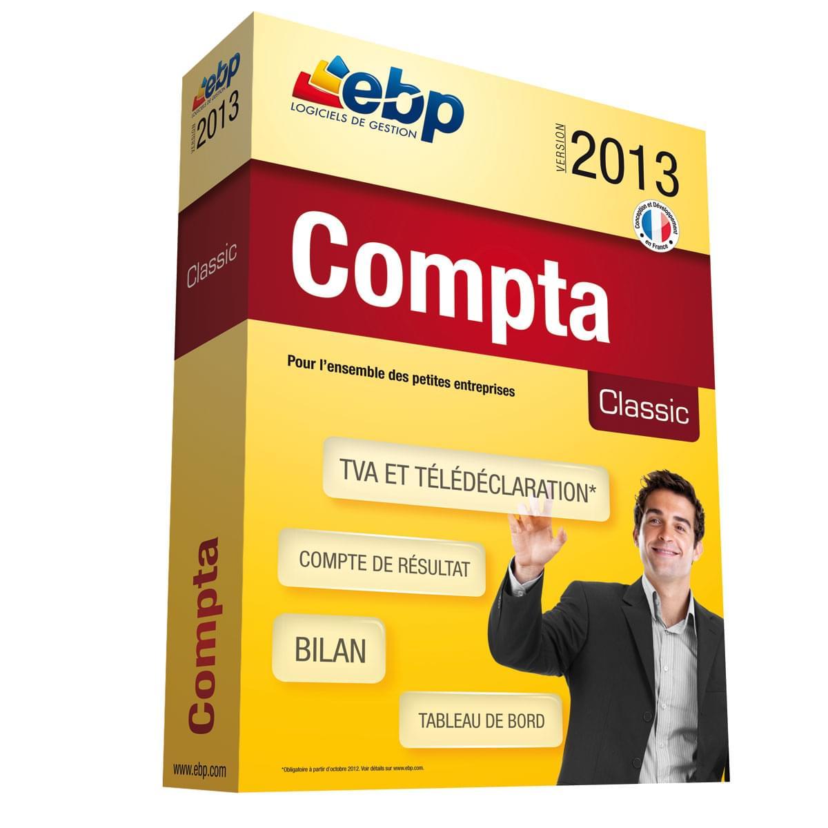 EBP Compta Classic 2013 (1066J050FAE) - Achat / Vente Logiciel Application sur Cybertek.fr - 0