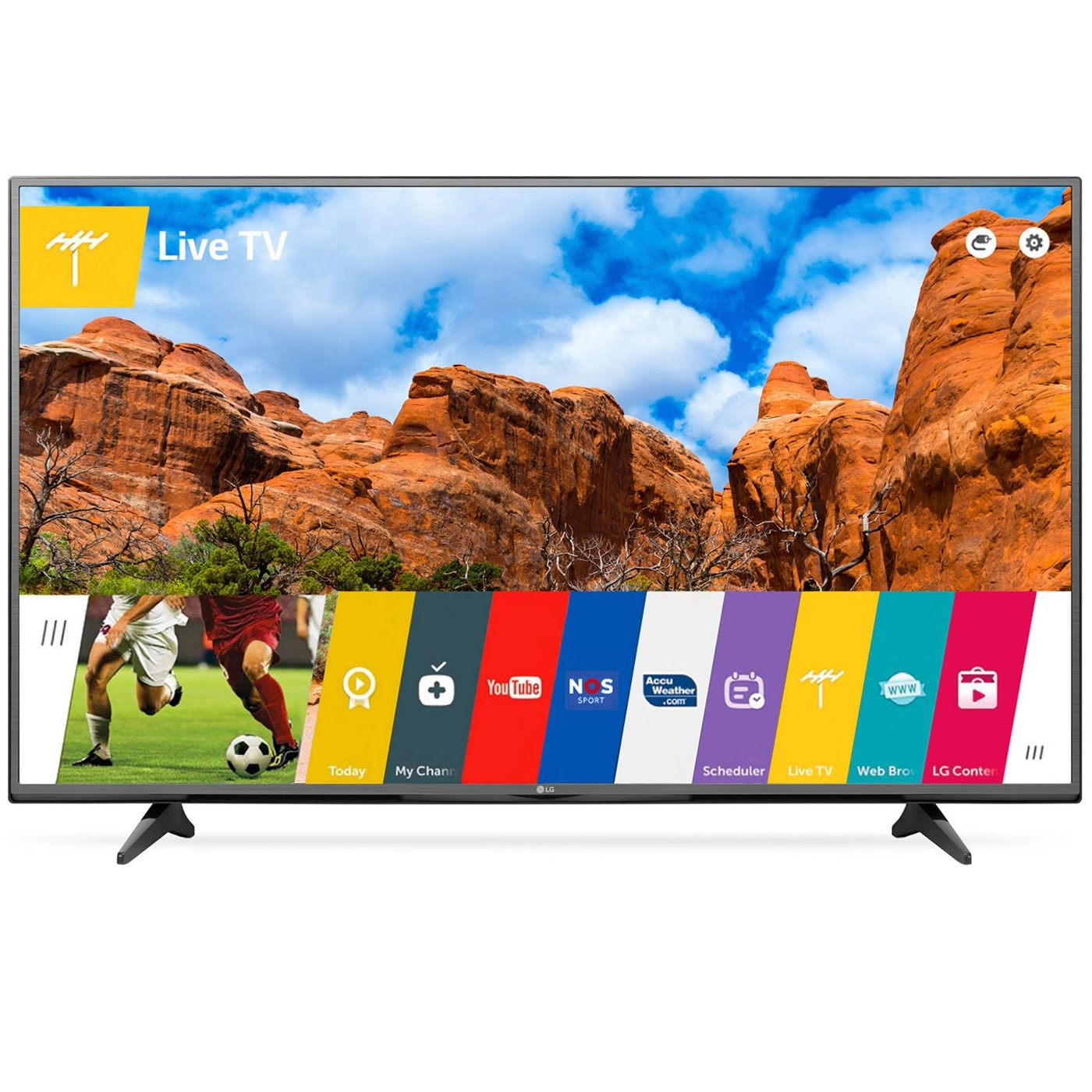 "LG 55UF680V - 55"" (140cm) LED UHD 4K WiFi Miracast - TV LG - 0"
