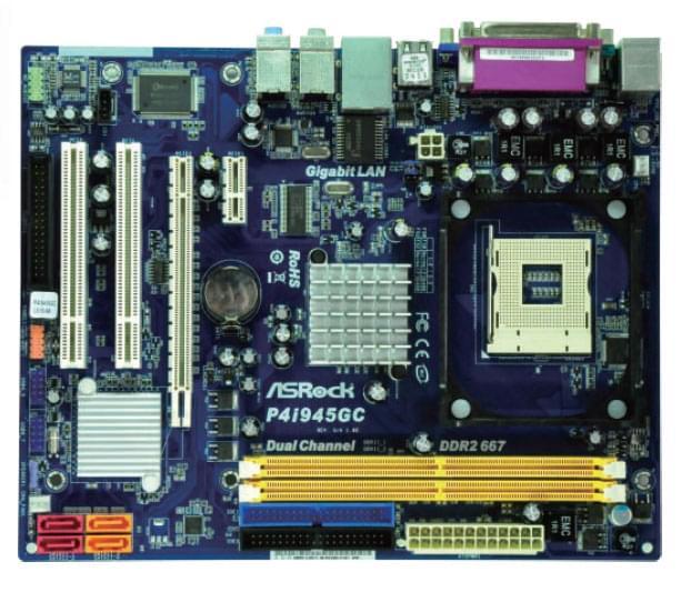 ASRock P4i945GC (P4i945GC ) - Achat / Vente Carte Mère sur Cybertek.fr - 0