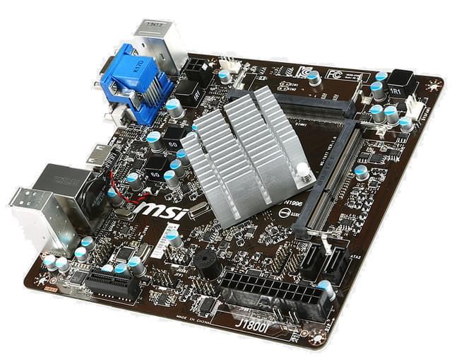 MSI J1800I Mini-ITX DDR3 - Carte mère MSI - Cybertek.fr - 0