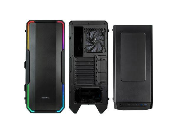 BitFenix GT/sans alim./E-ATX/RGB Noir - Boîtier PC BitFenix - 1